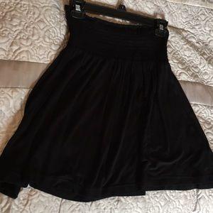 Cute Black skater skirt